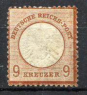 GERMANY 1872 - Mi.27b (Yv.24a, Sc.25a) MH Perfect (CV 2000) VF - Neufs