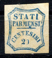 PARMA 1859 - Yv.14 (Mi.14, Sc.14) MNG Small Thin Signed Schlesinger - Parma