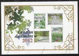 France 2012 Bloc N° 132 Neuf Luxe.jardins De France, Salon Du Timbre. - Mint/Hinged