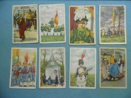 Collection De 8 Images Folklore Belge De Côte D'Or - 1ere Série - Côte D'Or