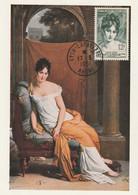 CARTE MAXIMUM - 1951 - N°875 : Madame Récamier - 1950-59