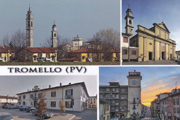 (QU237) - TROMELLO (Pavia) - Multivedute - Pavia