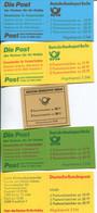 1549) 4 Markenheftchen Postfrisch 1x Gestempelt Bund - Markenheftchen