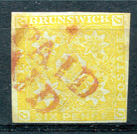CANADA - NEW BRUNSWICK 1851 - Yv.2 (Mi.2, Sc.2, SG.3) Used (perfect) Certified - Gebruikt
