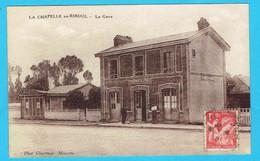 CPA La Chapelle Au Riboul - La Gare - Pas Courante - 53 Mayenne - Altri Comuni