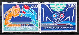 France 1994 - Inauguration Du Tunnel Sous La Manche*** - N°2880-2881- - Ongebruikt