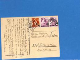 Saar 1947 Carte Postale De Saarbrücken (G3161) - Lettres & Documents