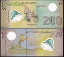 Nicaragua 200 Cordobas 2007 P 205 Polymer Plastic UNC - Nicaragua