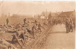 BERTRY France Departement Cambrai Grande Guerre 3/1918 Allied POWs Photo Originale Marron De L'époque, Photo Plus Fin - Weltkrieg 1914-18