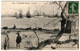CORSE CPA  ILE ROUSSE - Le Port Animée - Autres Communes