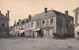 Circuit De La Sarthe - 1906 - Virage Sur La Place De VIBRAYE - Très Bon état - Vibraye