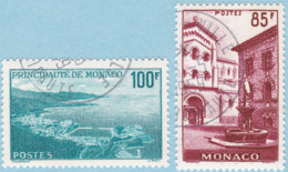 Monaco 1959 SC#428,SC#429 UNH Cat: £13 - Used Stamps