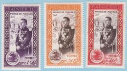 Monaco 1950 SC#247-249 MNH - Used Stamps