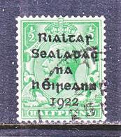 IRELAND  1   15-17 1/2  (o)   1922  Issue - Gebraucht