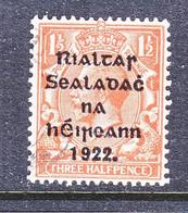 IRELAND  25   14 1/2 - 16  (o)   1922  JULY Issue - Gebraucht