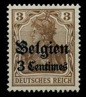 BES 1WK LP BELGIEN Nr 1 Ungebraucht X7797CA - Ocupación 1914 – 18