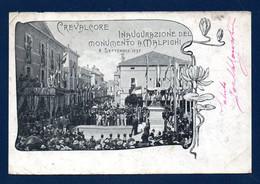 Italie. Crevalcore (Bo). Inaugurazione Del Monumento A Marcello Malpighi. (08.09.1897). 1900 - Bologna
