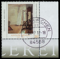 BRD BUND 2012 Nr 2937 Zentrisch Gestempelt ECKE-URE X325F46 - Oblitérés