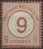 Deutsche Reich 1874 9 Kreuzer YT Nr 29 - Neufs