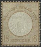 Deutsche Reich  1872  18 Kreuzer YT Nr 11 - Ungebraucht