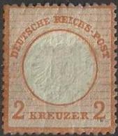 Deutsche Reich  1872  2 Kreuzer YT Nr 8 - Neufs