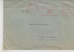 Freistempel Der Fa. Müller Röntgenwerk Aus (24)HAMBURG-FUHLSBÜTTEL 29.12.47 - Sin Clasificación