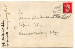 Dantzig Enveloppe 1943 - Ohne Zuordnung