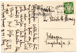 Dantzig Carte Postale 1936 - Ohne Zuordnung