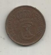 Monnaie , Island , Islande , Konungur , 5 Aurar ,  2 Scans - Islandia