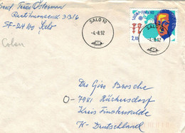 Salo 1992 - Kolumbus Route Nach Indien Sprich Amerika - Christophe Colomb
