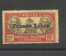 229 France Libre Sans Gomme                    (clasyveroug26) - Neufs