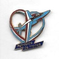 Pin' S  Militaire, Avion  Tricolore  De  LA  PATROUILLE  DE  FRANCE  Verso  1992  LMI - PARIS - Luftfahrt