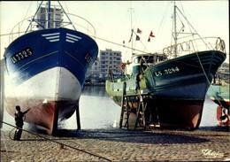 CPA Les Sables D'Olonne Vendée, Le Port, Le Carenage Des Bateaux - Altri Comuni