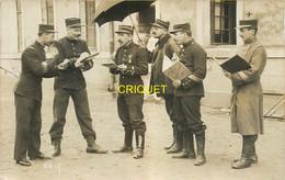 72 La Flèche, Carte Photo De Militaires Et Gradés Du 117ème, 1912 - La Fleche