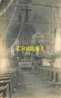 72 Bouloire, Carte Photo De L'Eglise Décorée, ( Guerre 14-18 ? ) N° 2, Beau Document - Bouloire