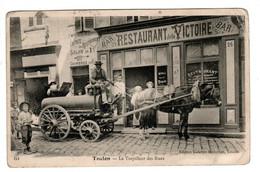 Toulon Le Torpilleur Des Rues , Restaurant De La Victoire - Toulon