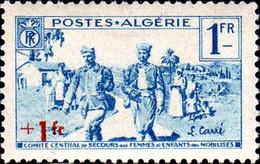 Algérie Poste N** Yv:159/162 Au Profit Des Familles Des Mobilisés - Unused Stamps