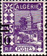 Algérie Poste N** Yv: 71/77 Vues D'Alger Surcharge Nv.valeurs Voir Detail - Unused Stamps