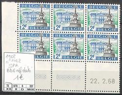 NB - [860926]TB//**/Mnh-Belgique 1968 - N° 1462, Bd6, Cdf Daté - Ungebraucht