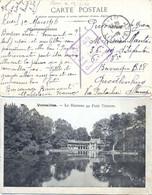 GUERRE 14-18 RUEIL SEINE ET OISE Le 1-3-1916 CP => PRISONNIER QUEDLINBURG BARRAQUE B 28 Via PONTARLIER  ALLEMAGNE - Guerre De 1914-18