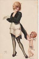 ***  IILUSTRATEUR  *** JEAN JAM  Petit Ange Fleches -- Cupidon En Herbe - TTBE - Other Illustrators
