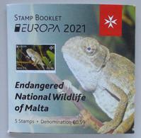 Malta 2021 Cept PF Booklet - 2021