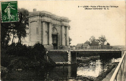 CPA AK LOOS-Porte D'Entrée De L'Abbaye (422796) - Loos Les Lille