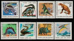 VIETNAM - N°146/53 ** (1979) Animaux Préhistoriques - Vietnam