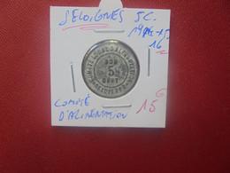 "SELOIGNES (HAINAUT) 5 Centimes 1914-15-16 ""COMITE LOCAL D'ALIMENTATION"" PEU COURANT !(A.14) - Monetari / Di Necessità"