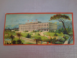 CHROMO ANCIENNE-CIE INTERNATIONALE GRANDS HOTELS-RIVIERA PALACE NICE-H. Alési - Andere