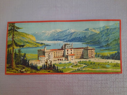 CHROMO ANCIENNE-CIE INTERNATIONALE GRANDS HOTELS-MALOJA PALACE SUISSE-H. Alési - Andere