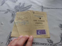 CA-59 , Carte Nationale D'identité, Préfecture Du Haut-Rhin, Timbre Fiscal 30 Francs, 1979 - Documents Historiques