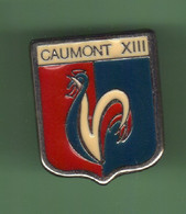 RUGBY XIII *** CAUMONT *** 5074 (30-3) - Rugby