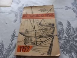 CA-58 , Côte Française Des Somalis, Guide Annuaire 1959, 200 Pages, Djibouti Publicité - Geografia